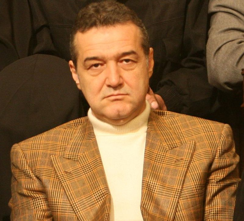 George Becali. Photo author:  Vlad Hogea .
