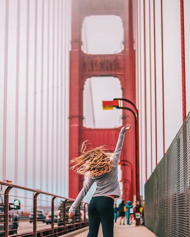 golden gate, golden city, golden life.