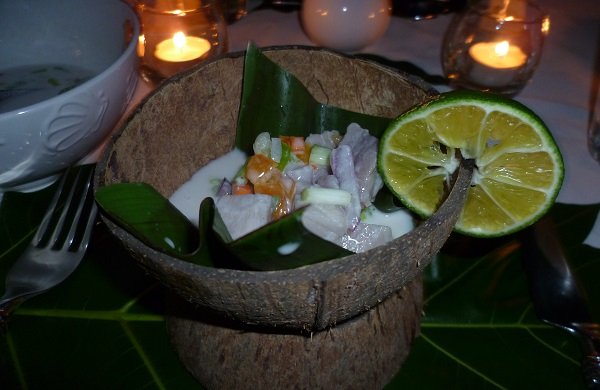Tahitian Fish Salad
