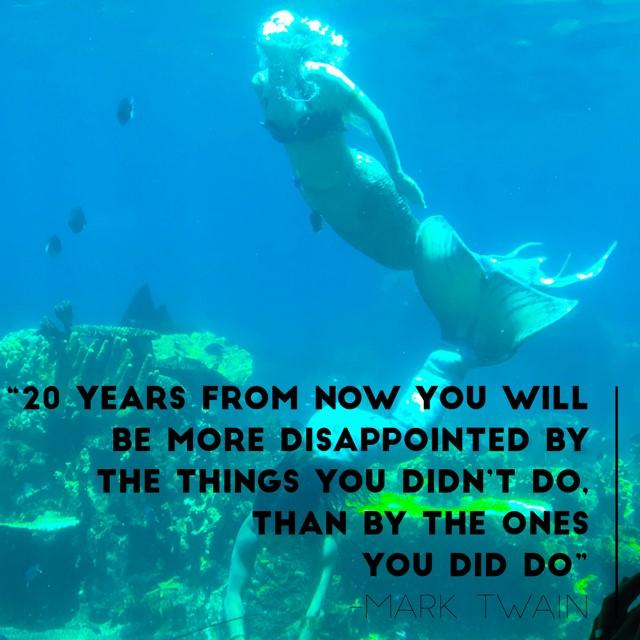 MarkTwain Quote Mermaids