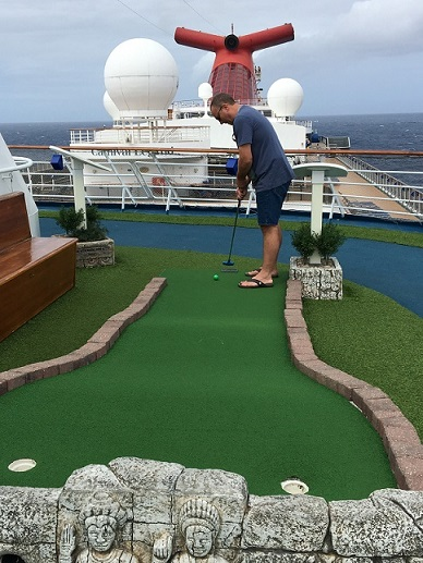 Carnival Legend Mini Golf