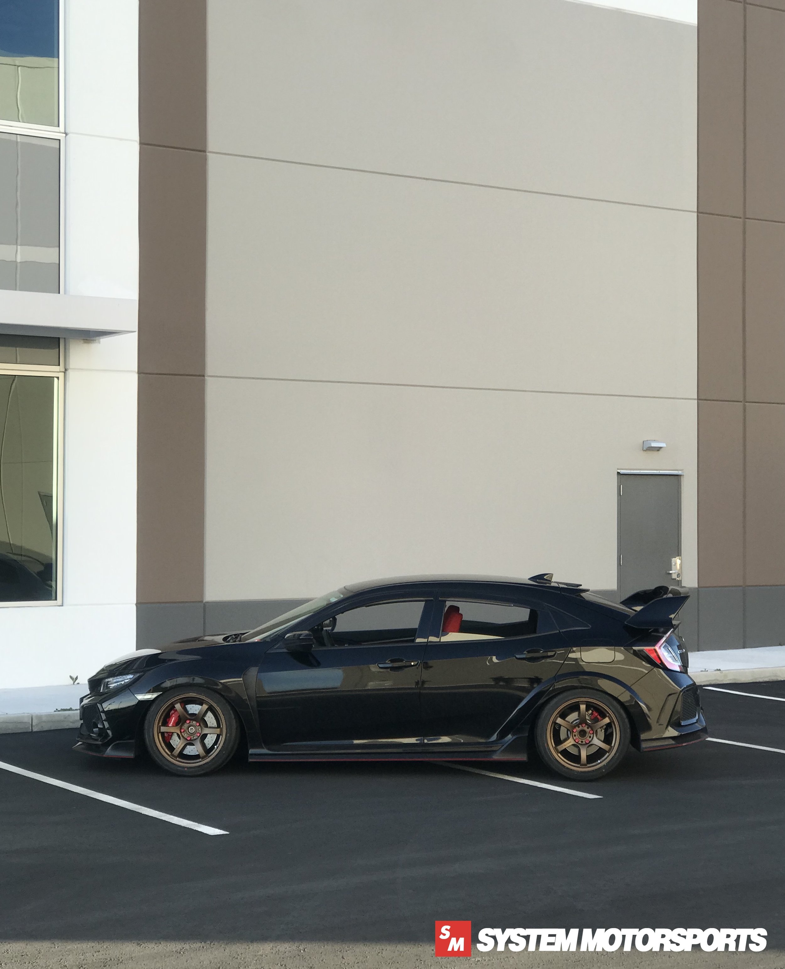 Rays Engineering Gramlights 57DR 18x9.5 +38 5x120 (Bronze) on FK8 Civic Type R Platform - System Motorsports