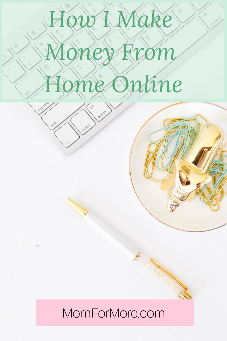 How I Make Money From Home Online