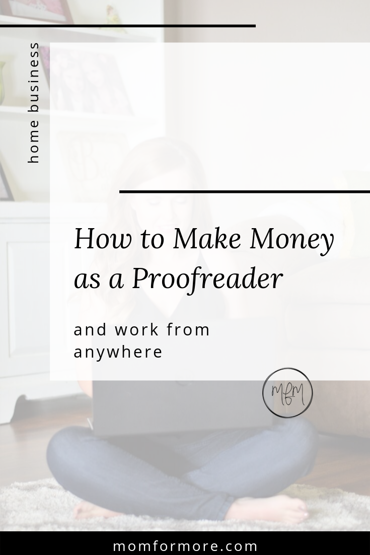 start a proofreading business and work from anywhere