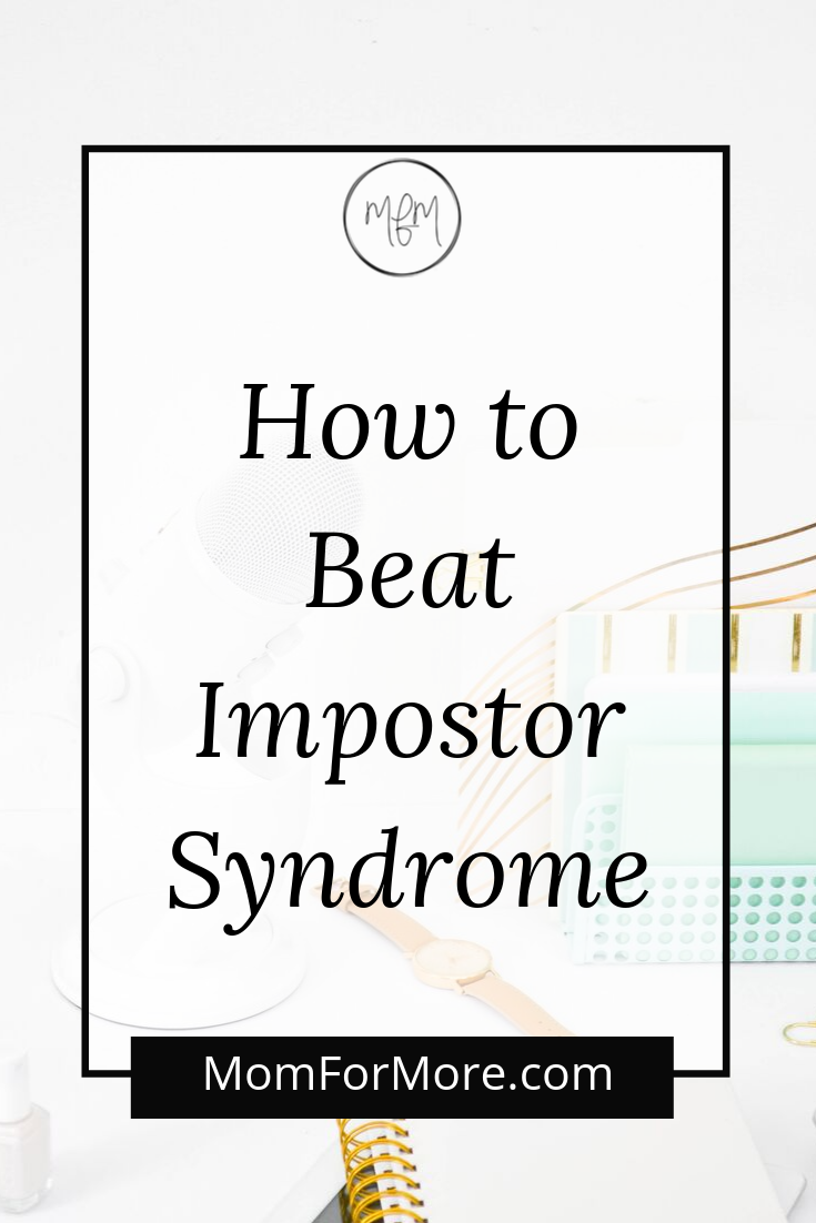 pin it: how to beat impostor syndrome