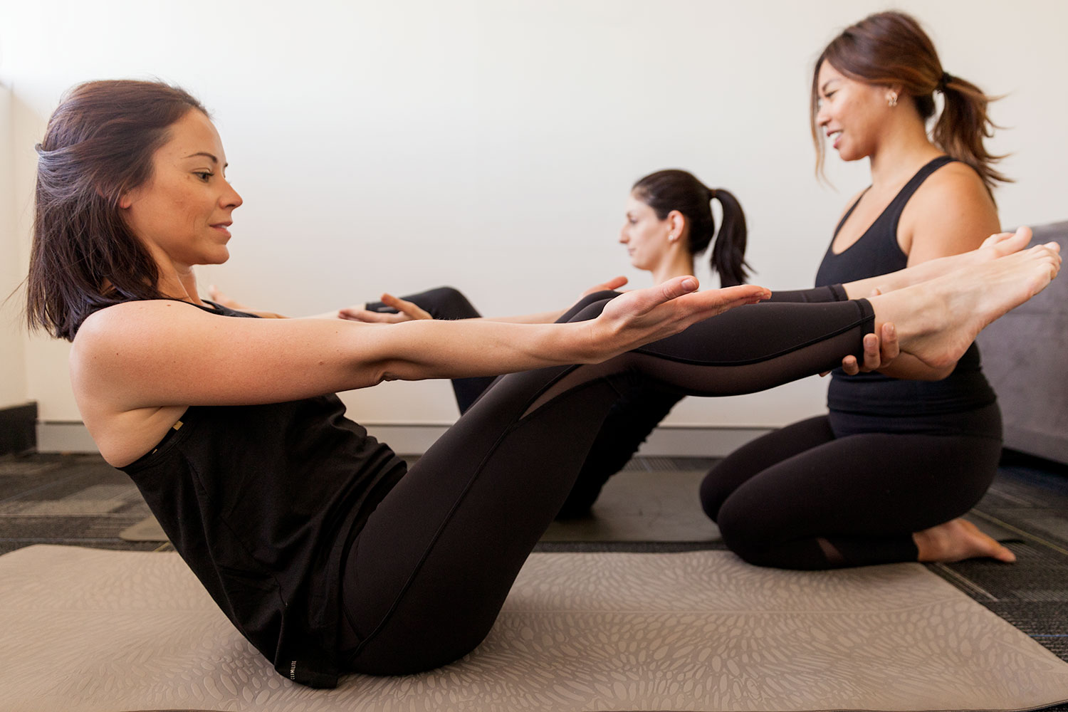 NEW TO PILATES? - Pilates is advantageous for those nursing an injury, for pre and post natal women and those new or coming back to exercise.Pilates looks at the body as a whole while concentrating on biomechanics with a focus on improving core strength and posture.Once called Contrology, this method of exercise was invented by a man named Joseph Pilates. His intention was to help injured dancers and soldiers consciously control muscle movement through the awareness of breathing. Book in a complimentary session with Jessie today to see if Pilates is right for you.