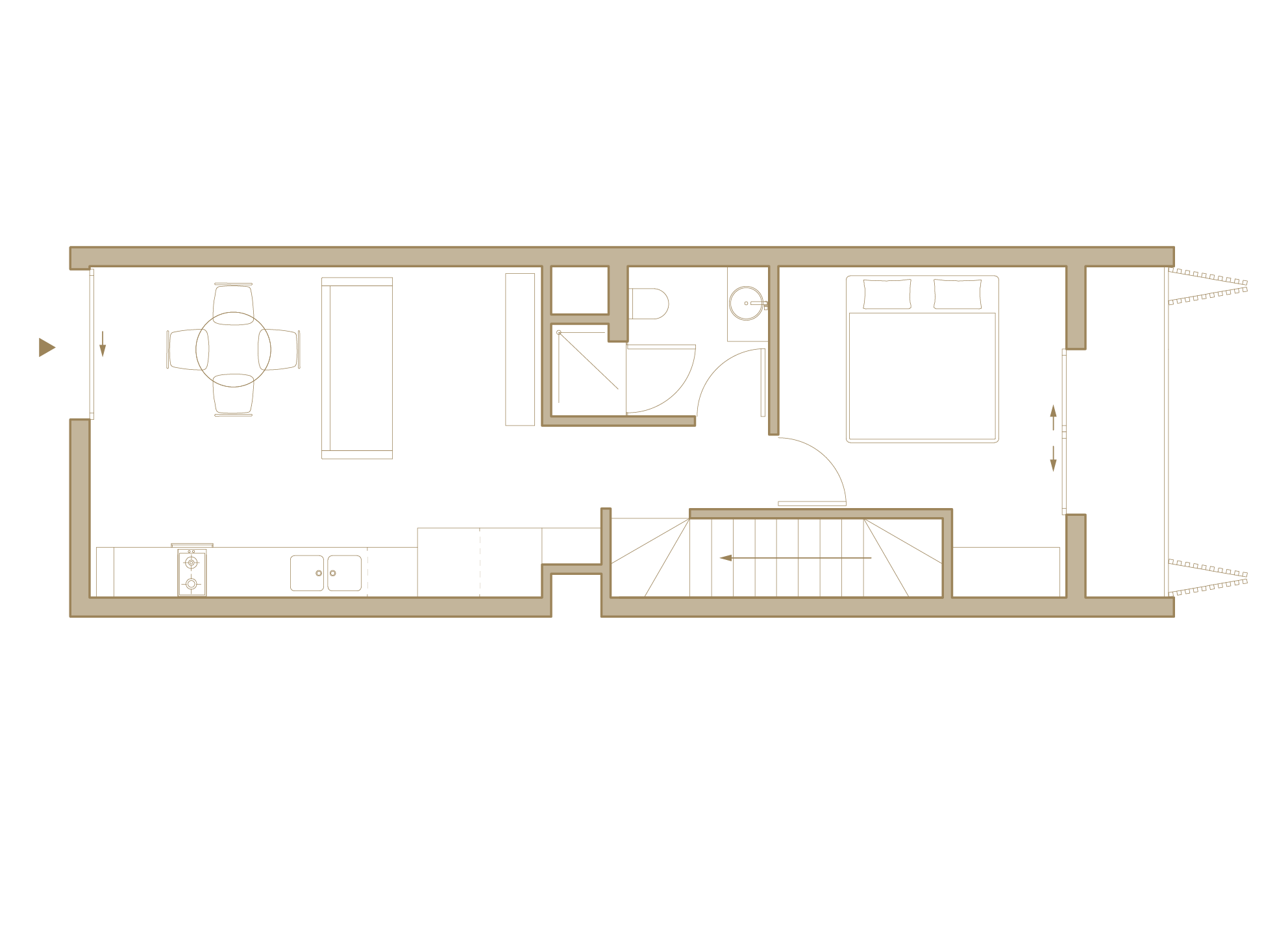 Upper Floor Residential Area