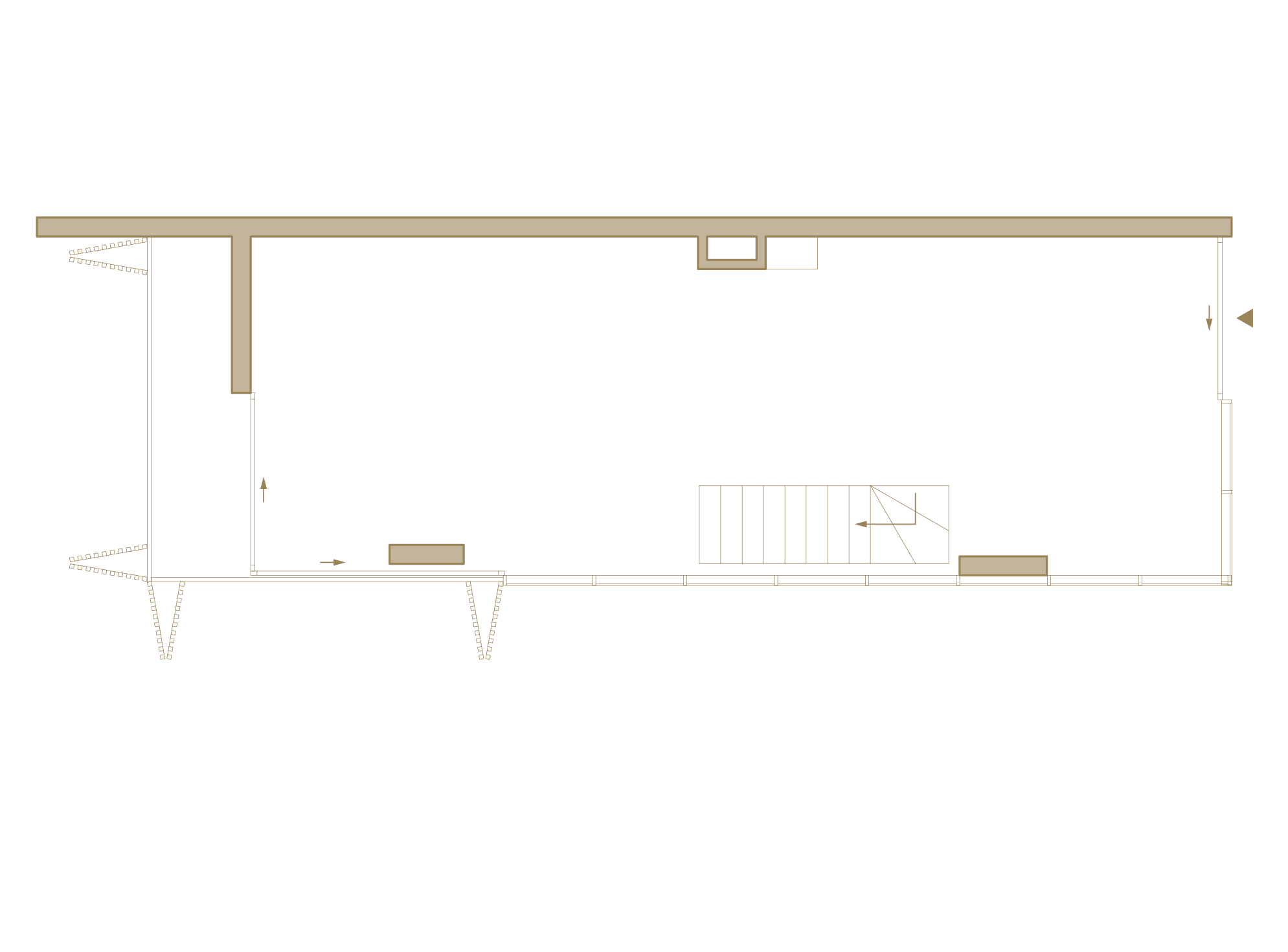 Lower Floor Studio / Showroom Area