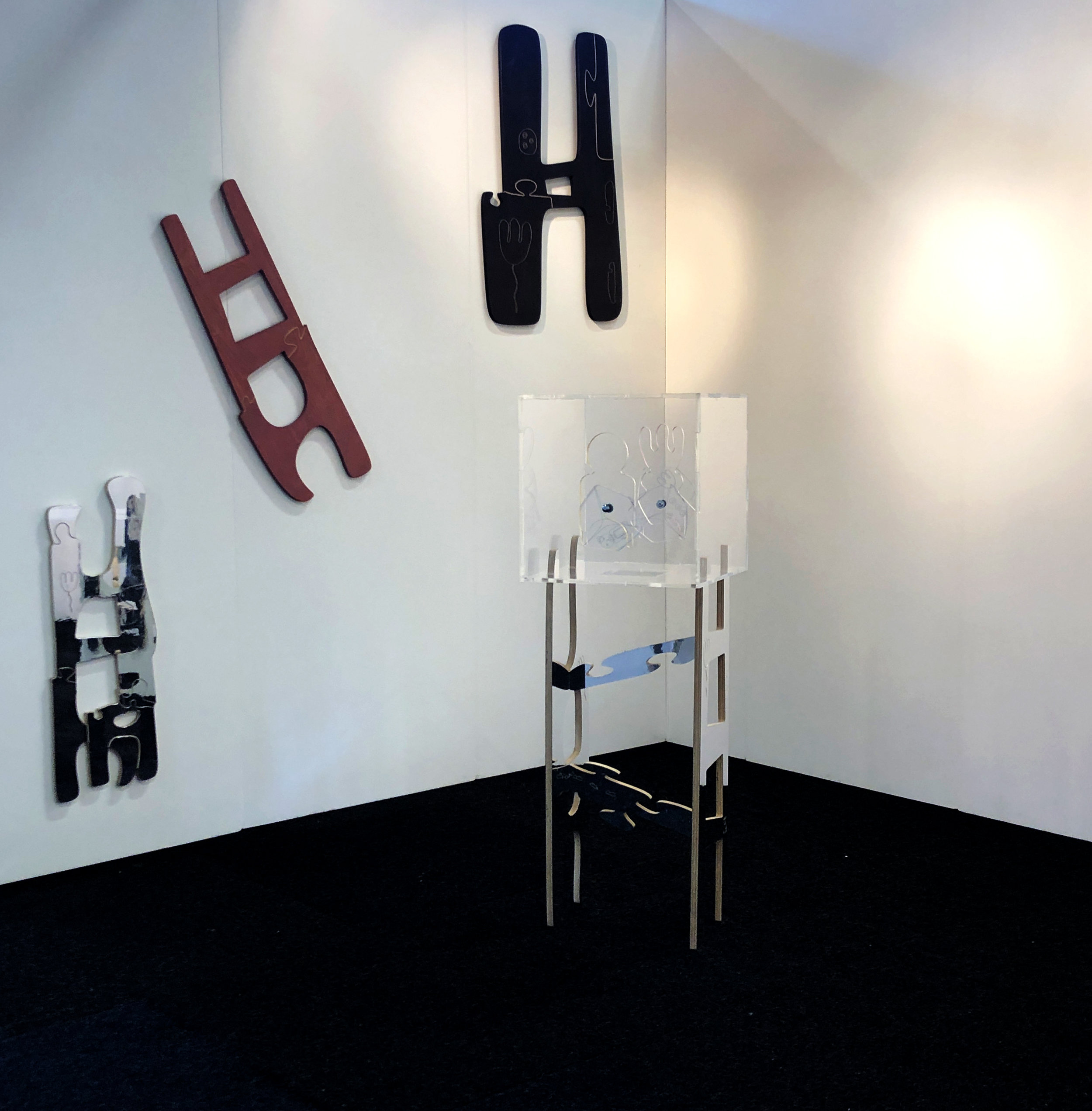 Alice Irwin display at Platform Projects Affordable Art Fair Battersea 2019