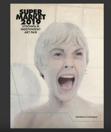 Charles Inges on cover ofSupermarket exhibition catalogue 2019 - Available to read online here.