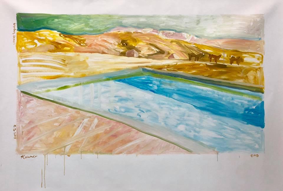 Elyasaf Kowner, 'Agafay Desert', 2019, נולובז חלל שיתופי לאמנות Nulobaz cooperative art space