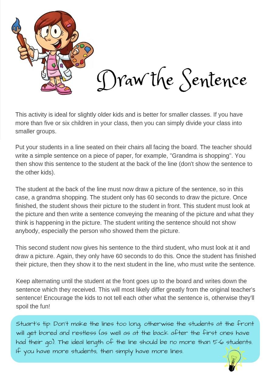 Draw the sentence.jpg
