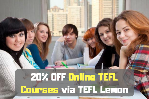 20% OFF Online TEFL Courses via RAY English.png