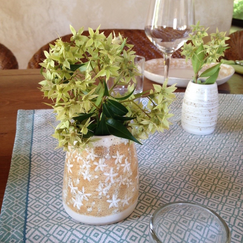 speckled flower vase by suzi poland sm.jpg