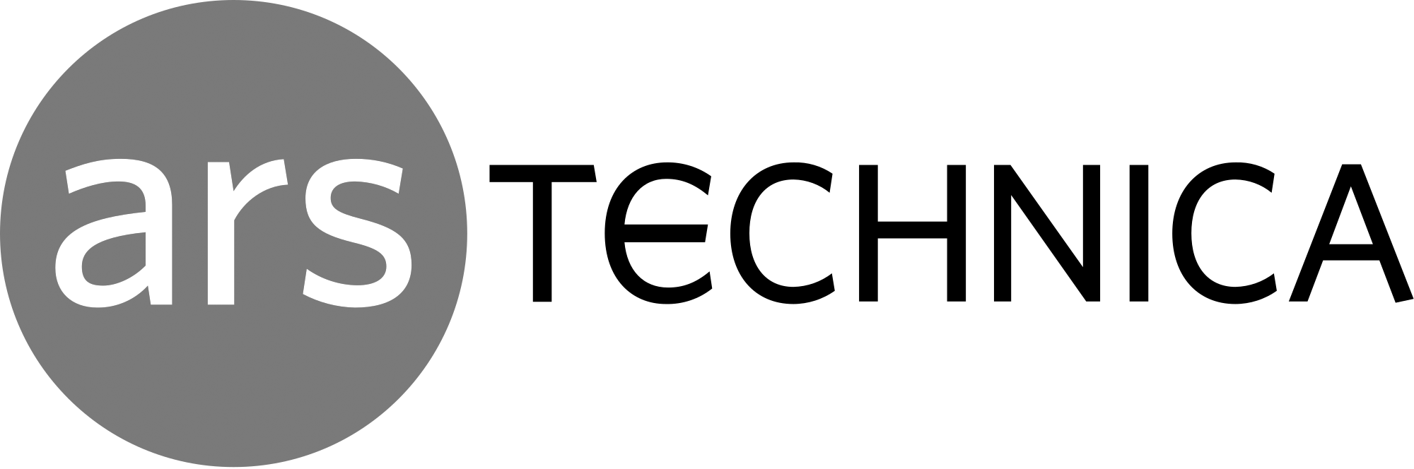 Ars Technica - Logo - Grayscale.png