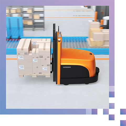 Built for Rugged Environments - WaveSense can operate in dirty and unstructured warehouse environments. It also doesn't require tape, markings, or sensor cleanings.