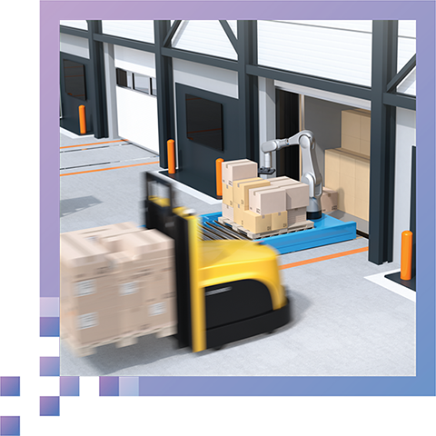 Zero Workflow Interruption - Continuously maps the warehouse floor without having to shut down warehouse operations.