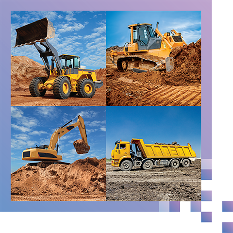 Compatible with A Multitude of Vehicles - Backhoes, bulldozers, front loaders, trucks - WaveSense works with a wide variety of heavy equipment.