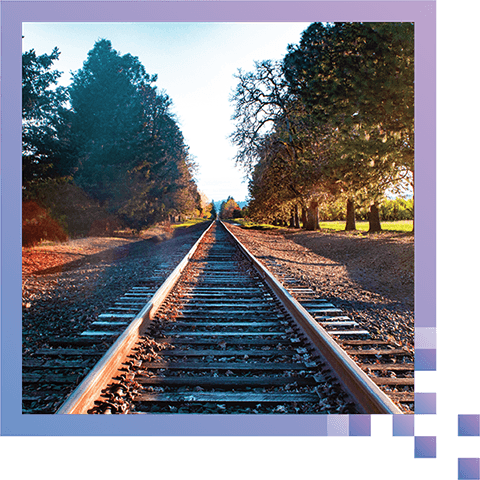 Automatic Track Inspection - Check for erosion and weaknesses in underlying terrain as well as rail tie health.