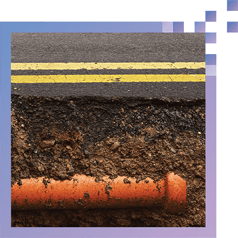 Reduce Costly Underground Searches - Accurately identify positioning of critical infrastructure, including pipes, cabling, rebar, and other structures, before digging.