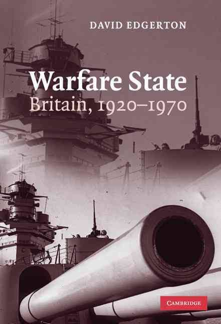 - Warfare State: Britain, 1920-1970A challenge to the central theme of the existing histories of twentieth-century Britain, that the British state was a welfare state, this book argues that it was also a warfare state, which supported a powerful armaments industry. This insight implies major revisions to our understanding of twentieth-century British history, from appeasement, to wartime industrial and economic policy, and the place of science and technology in government. David Edgerton also shows how British intellectuals came to think of the state in terms of welfare and decline, and includes a devastating analysis of C. P. Snow's two cultures. This groundbreaking book offers a new, post-welfarist and post-declinist, account of Britain, and an original analysis of the relations of science, technology, industry and the military. It will be essential reading for those working on the history and historiography of twentieth-century Britain, the historical sociology of war and the history of science and technology.
