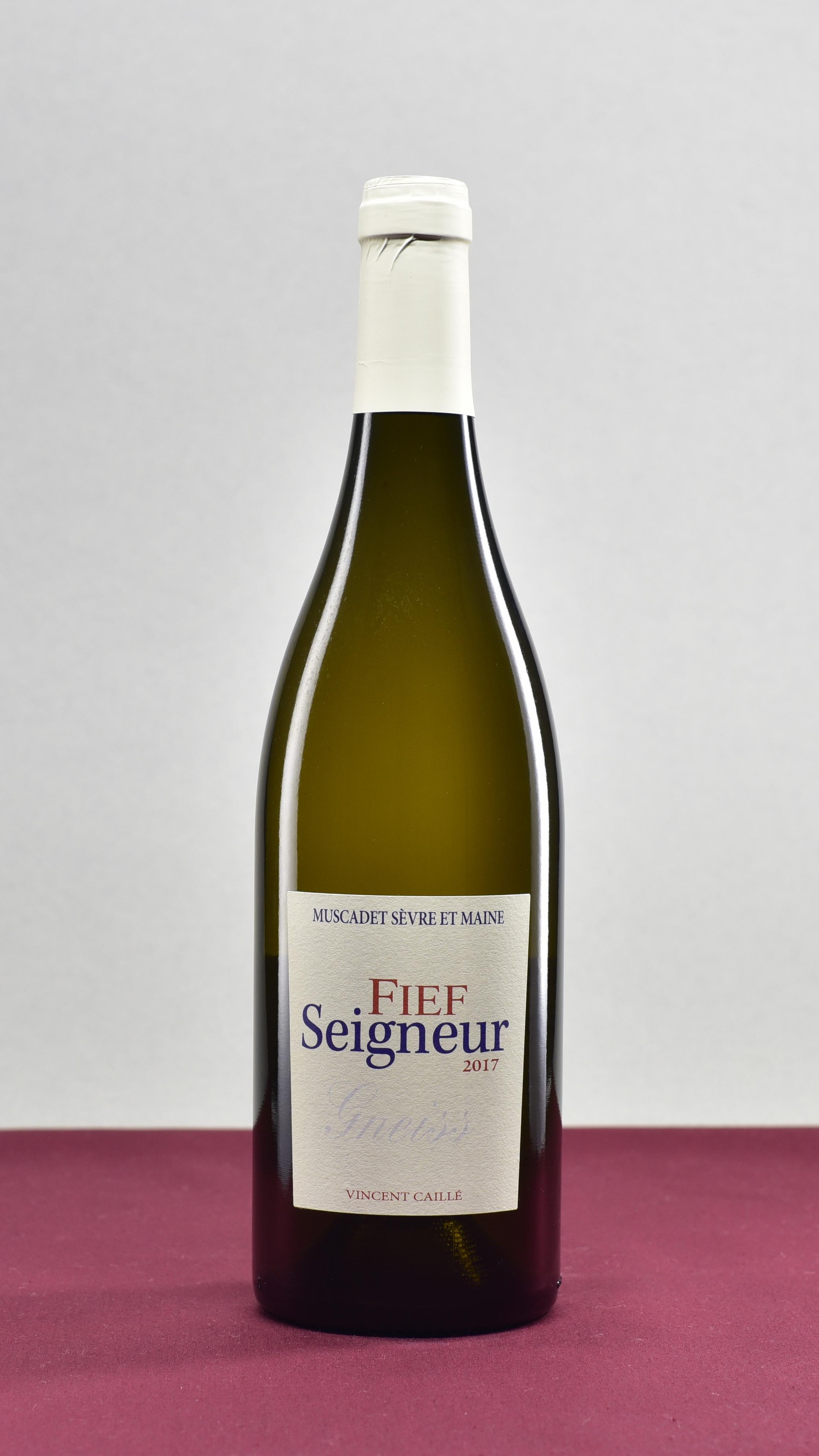 FieF SeiGneur - Domaine le Fay d'Homme | Vincent CailléMelon B.AOP Muscadet Sérve et Maine | 2017