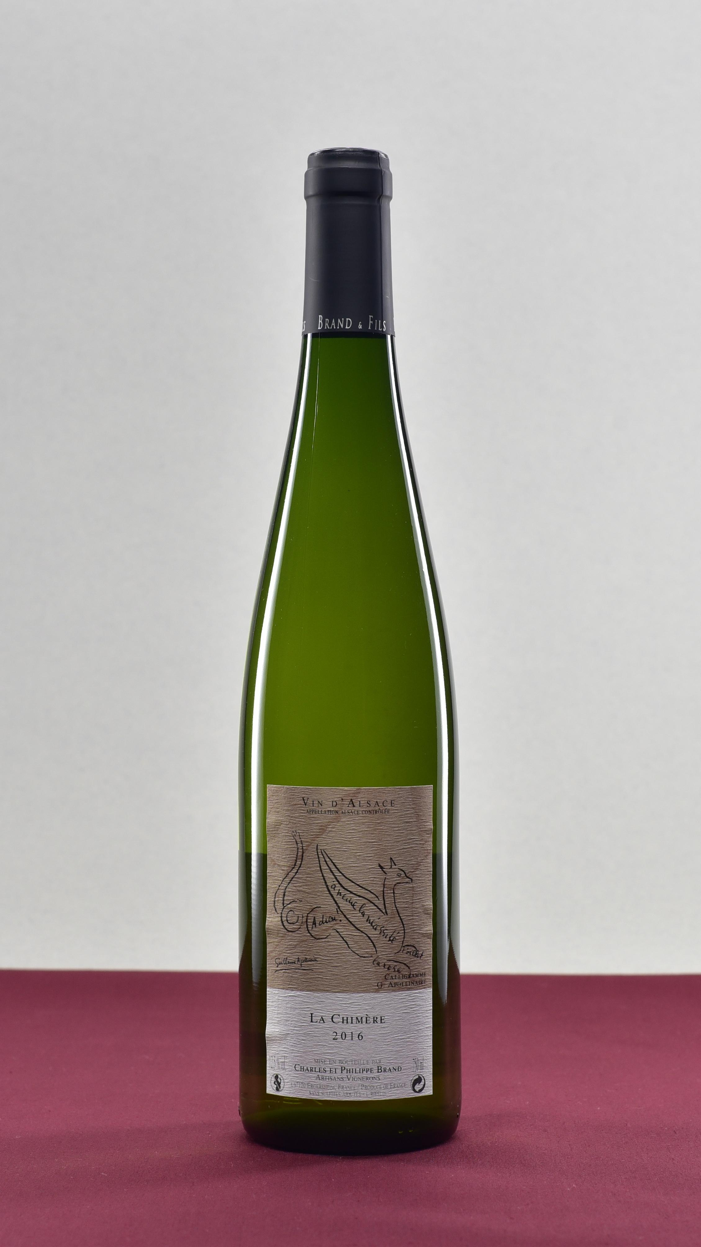 La Chimere - Domaine Brand et Fils | Philippe BrandRieslingVin d'Alsace | 2016