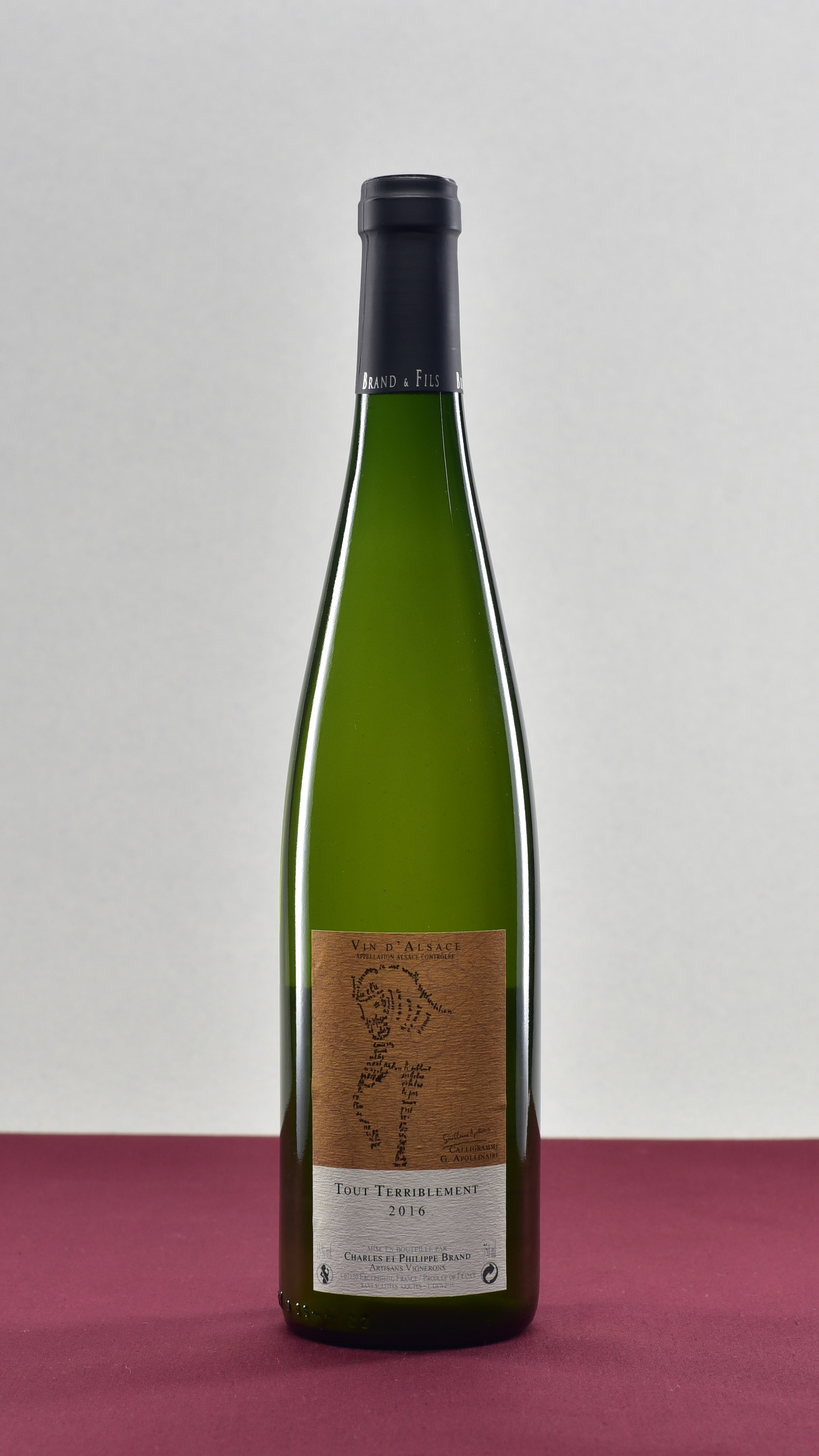 Tout Terriblement - Domaine Brand et Fils | Philippe BrandGewurztraminer Vin d'Alsace | 2016