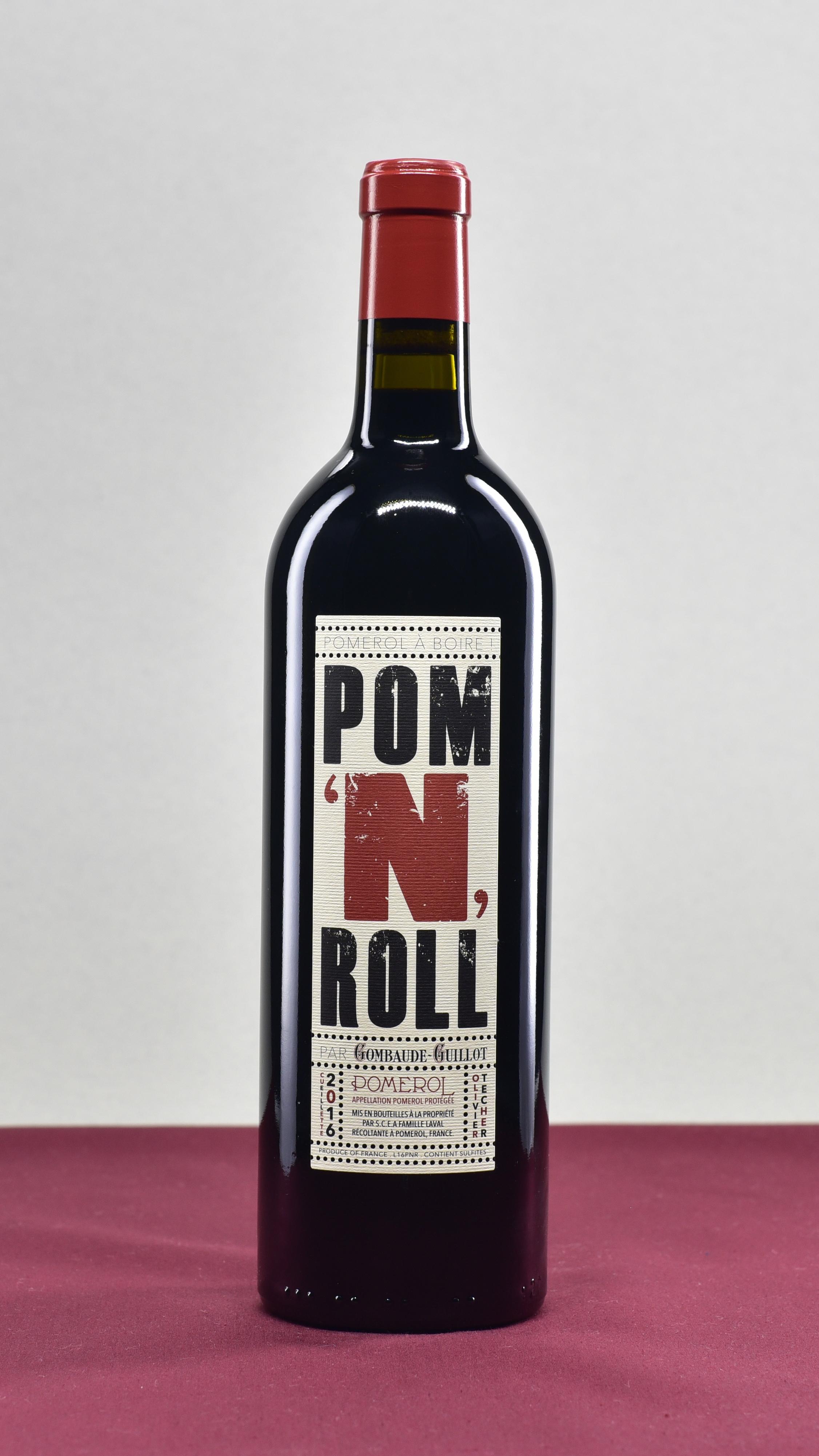 Pom 'N' Roll - Chateau Gombaude Guillot | Olivier TecherMerlotAOP Pomerol | 2016