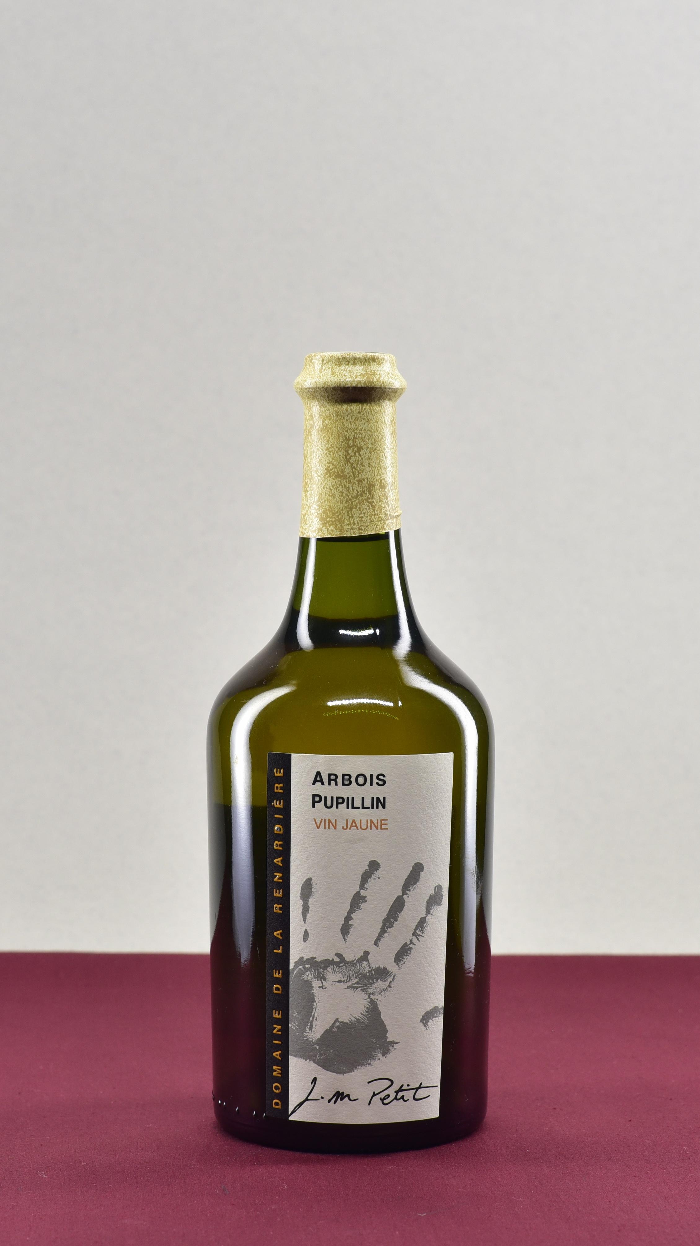 Vin Jaune - Domaine de la Renardière | Jean Michel PetitSavagninAOP Arbois Pupillin | 2010