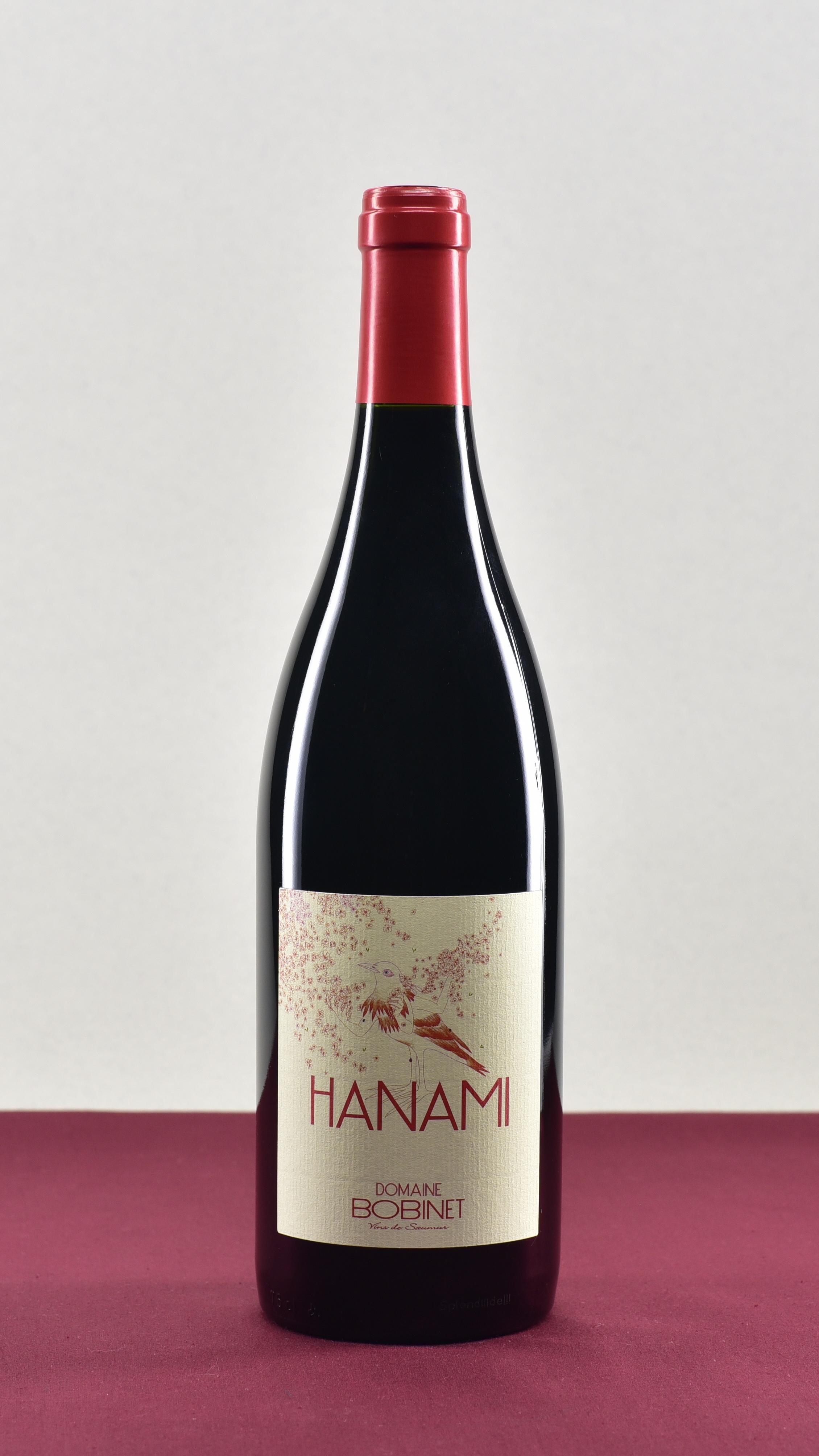 Hanami - Domaine Bobinet | Emeline & Sebastien BobinetCabernet FrancAOP Saumur Champigny | 2018