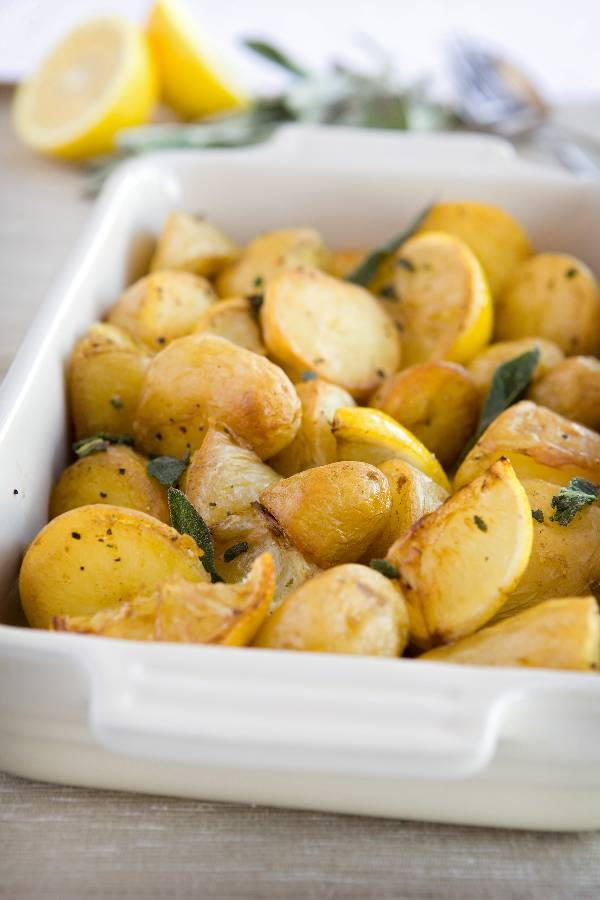 - The perfect roast potato.Crunchy as hell on the outside, soft and buttery on the inside, lemony, garlicy, savoury.I'm confident in telling you these potatoes will up your sunday roast game like no other.Give 'em a go.