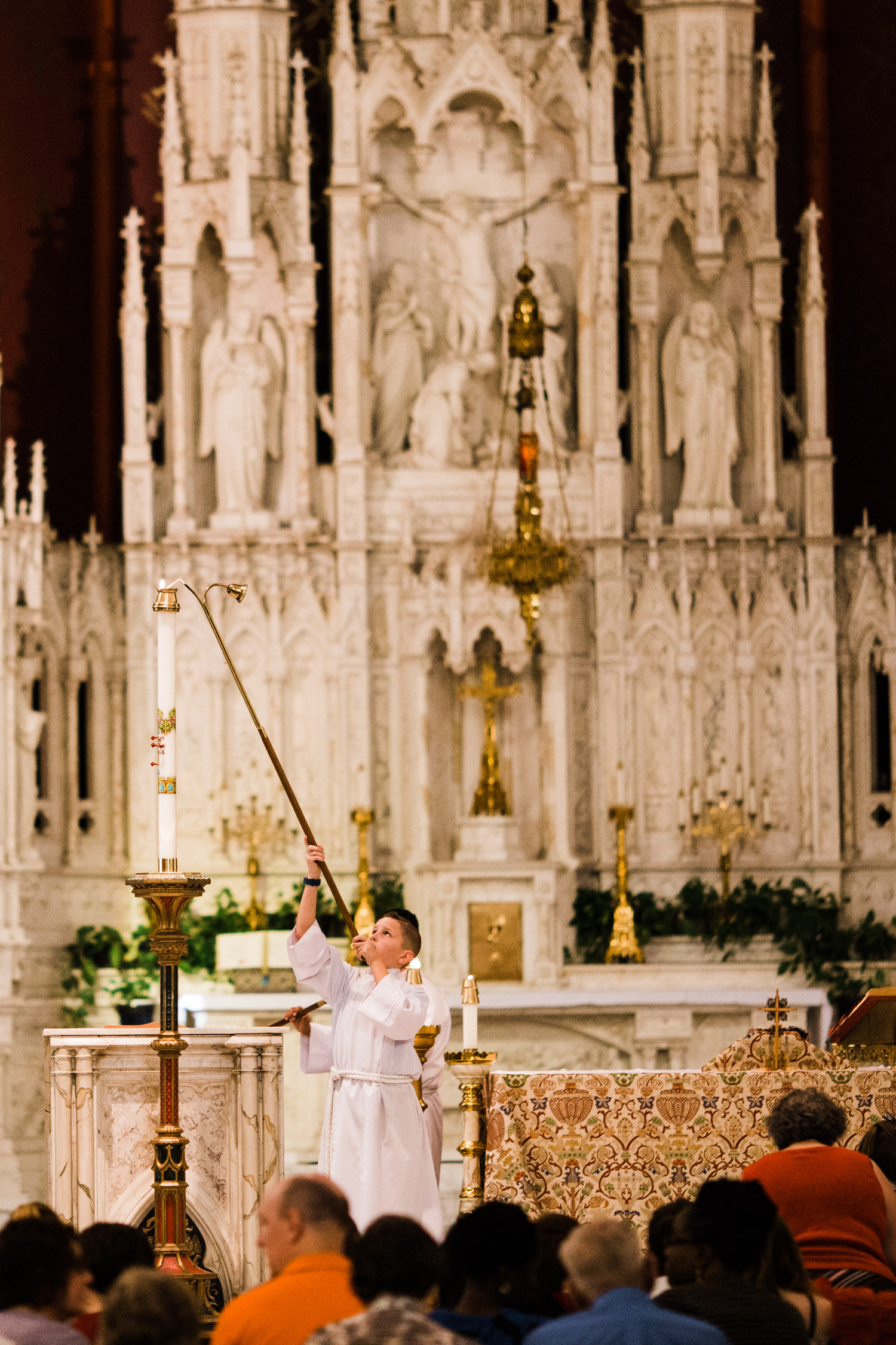 Mass Times - Weekend MassSaturday: 5:00p.m.Sunday: 8:00a.m., 10:00a.m., 12:00p.m., 5:00p.m.Confessions are on Saturday, 3:30-5:00 p.m., and ten minutes before each Mass.Daily MassMonday: 12:05p.m.Tuesday: 7:00a.m., 12:05p.m.Wednesday: 7:00a.m., 12:05p.m.Thursday: 7:00a.m., 12:05p.m.Friday: 7:00a.m., 12:05p.m., 5:05 p.m.Saturday: 8:00a.m.More information about specific Masses can be found here.