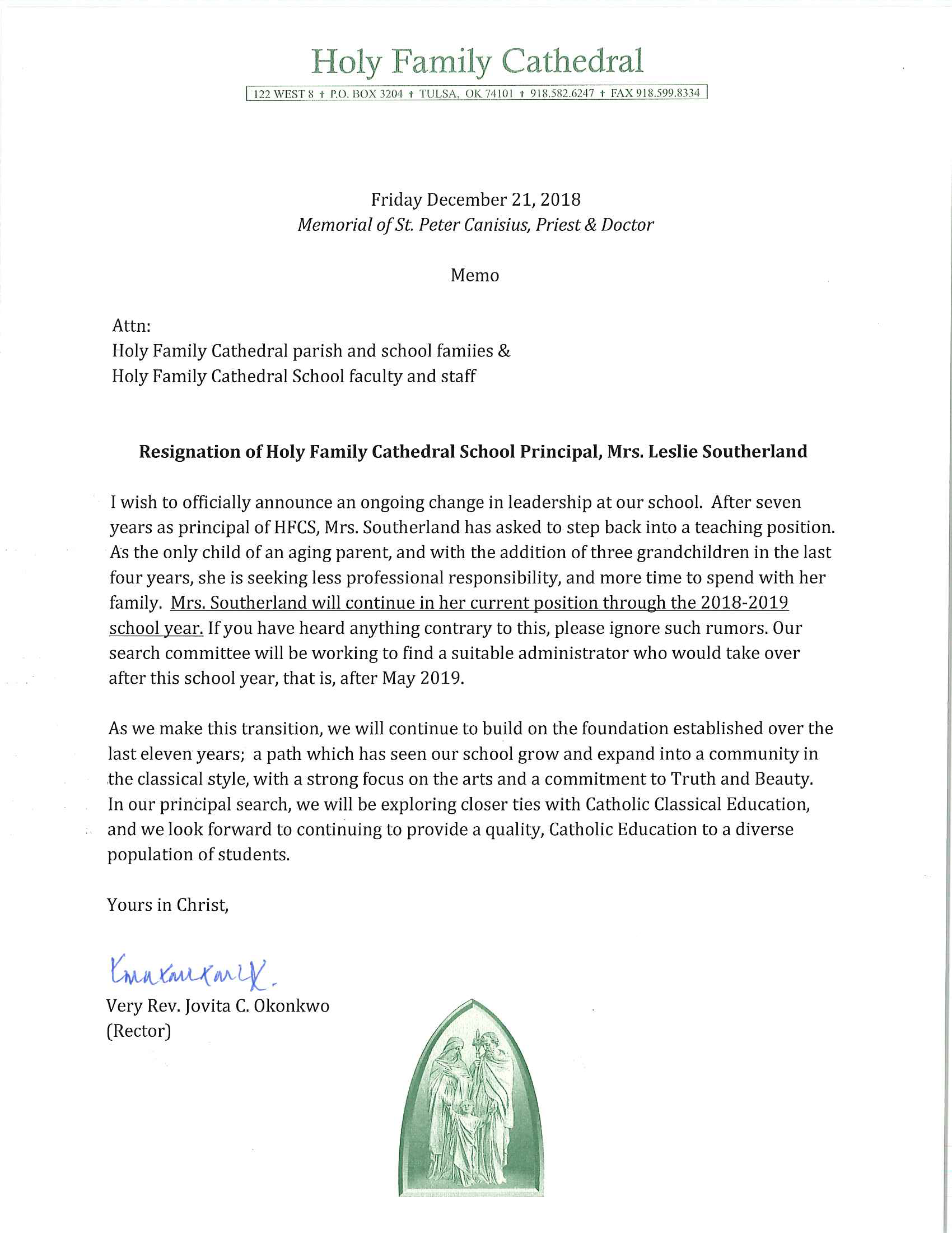 Resignation of Mrs. Southerland.png