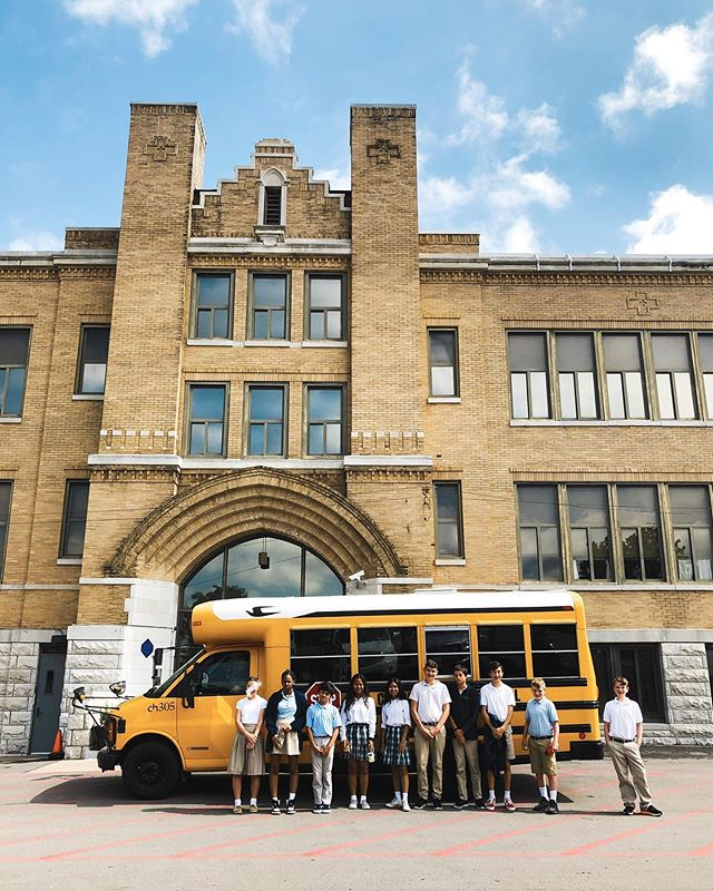 "Yesterday our 8th grade went on their second high school tour of the year at @casciahall! The students and admissions staff created an escape room style scavenger hunt of the school, where our students were mixed in groups with other schools, led through the building by a Cascia Hall student guide, and stopped at different classrooms to solve puzzles or answer questions that allowed them to ""escape"" that room and move on in their tour. This activity allowed our students to interact with multiple Cascia students and staff and to get really acquainted with the campus. Thank you so much to the staff and students of Cascia Hall for being such gracious hosts (and for telling Ms. Hansen how kind and respectful our students are— we agree!). . . To learn more about what @casciahall has to offer, your family is invited to their open house this Sunday from 1-3 PM!"