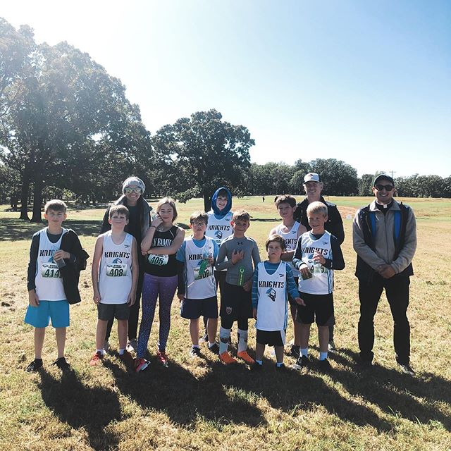 Today was the last meet of the season for our Cross Country team, so Fr. Carvajal came out to cheer them on! We are so proud of our runners and their perseverance, dedication, and growth. Swipe to see a video of them all crossing the finish line! #hfcsathletics
