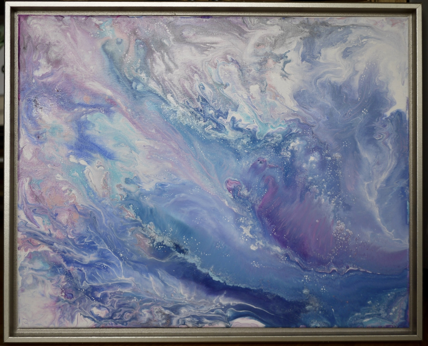 SERENITY  16x20 inches  Mixed media on canvas