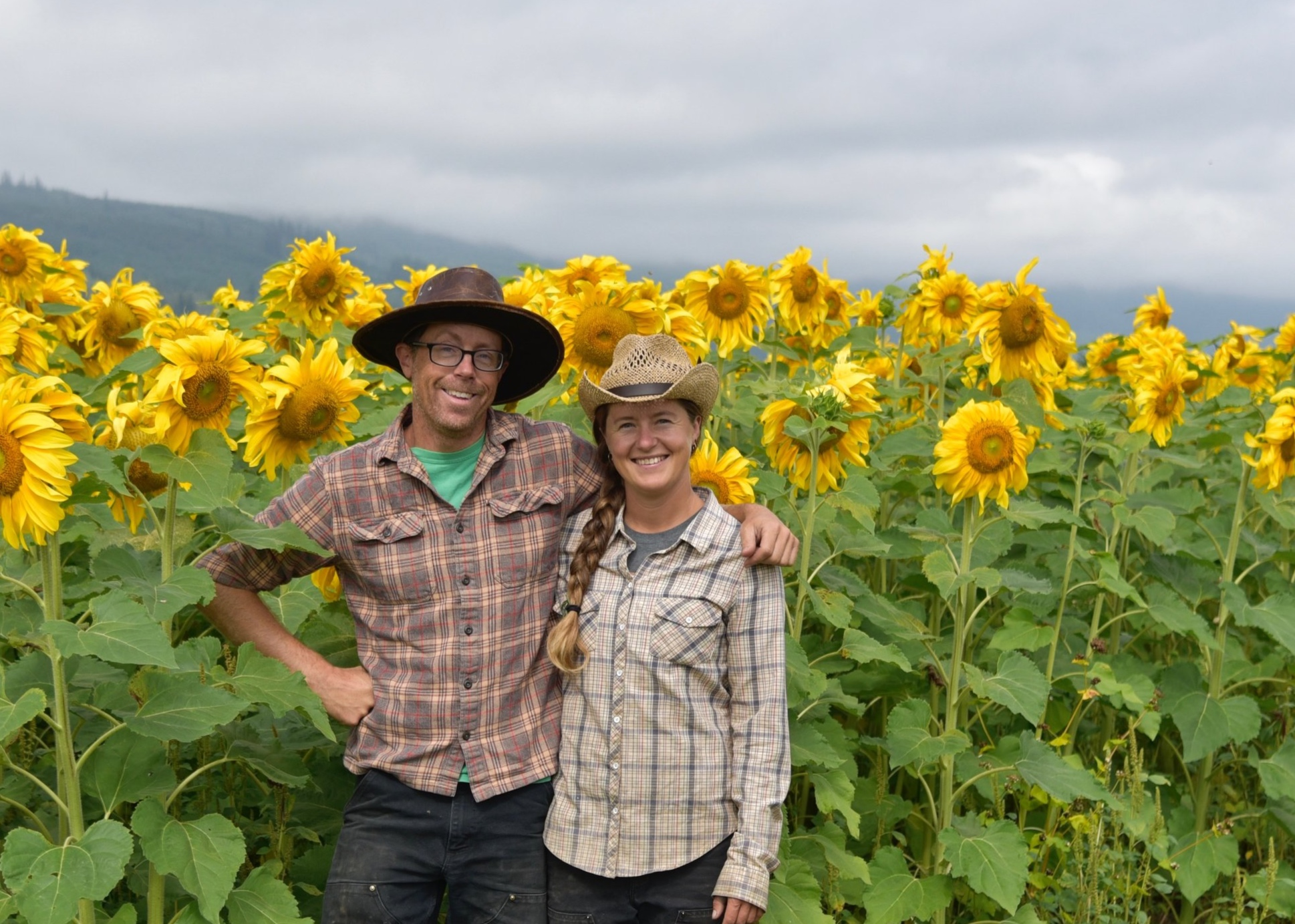 Sited along the South Fork of the Nooksack River, these fields are farmed by Margaret Gerard and Nick Guilford.Together, they grow and sell over 300 different items to cooks and gardeners in the Puget Sound region.Thanks for all your support! -