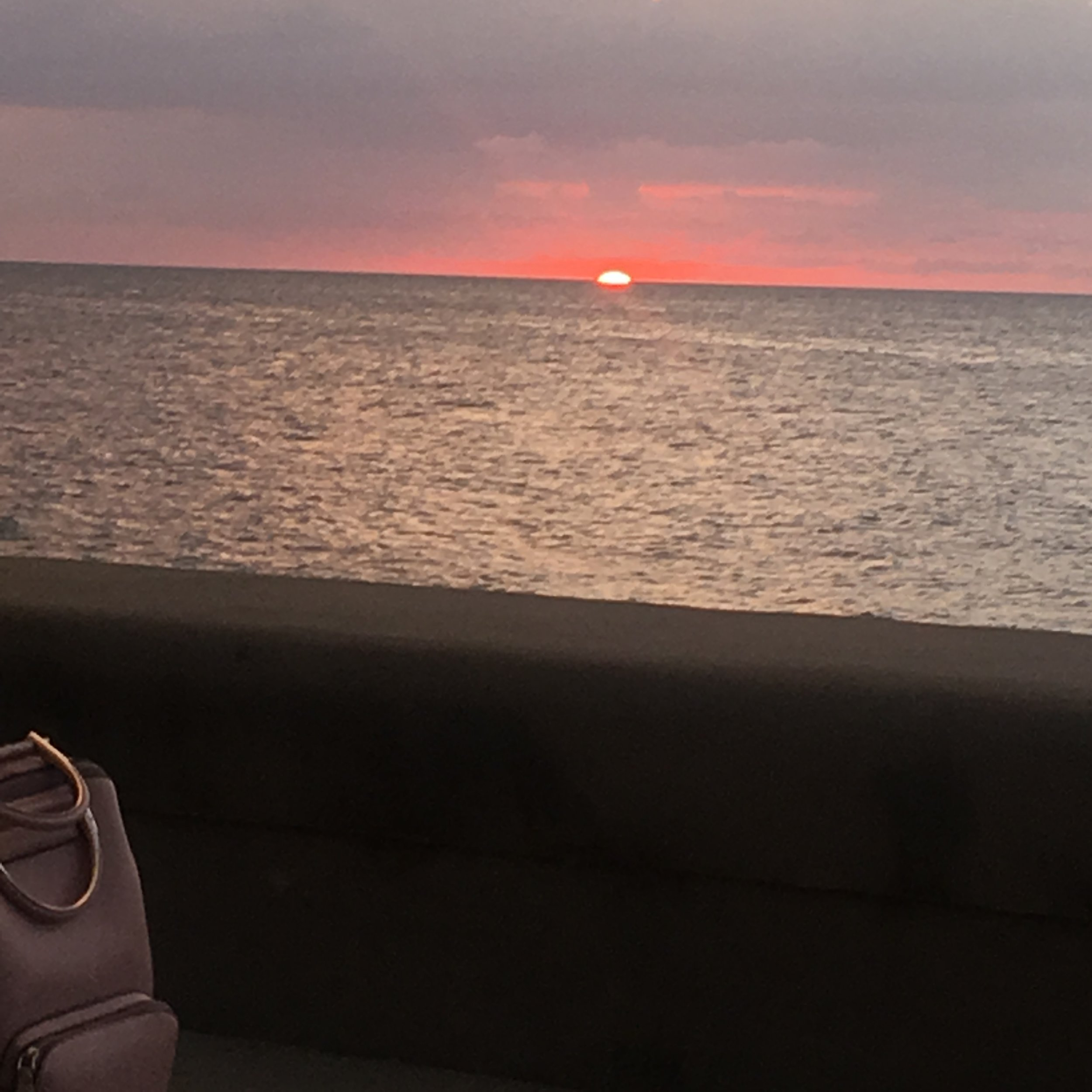 Sunset at the Malecon'
