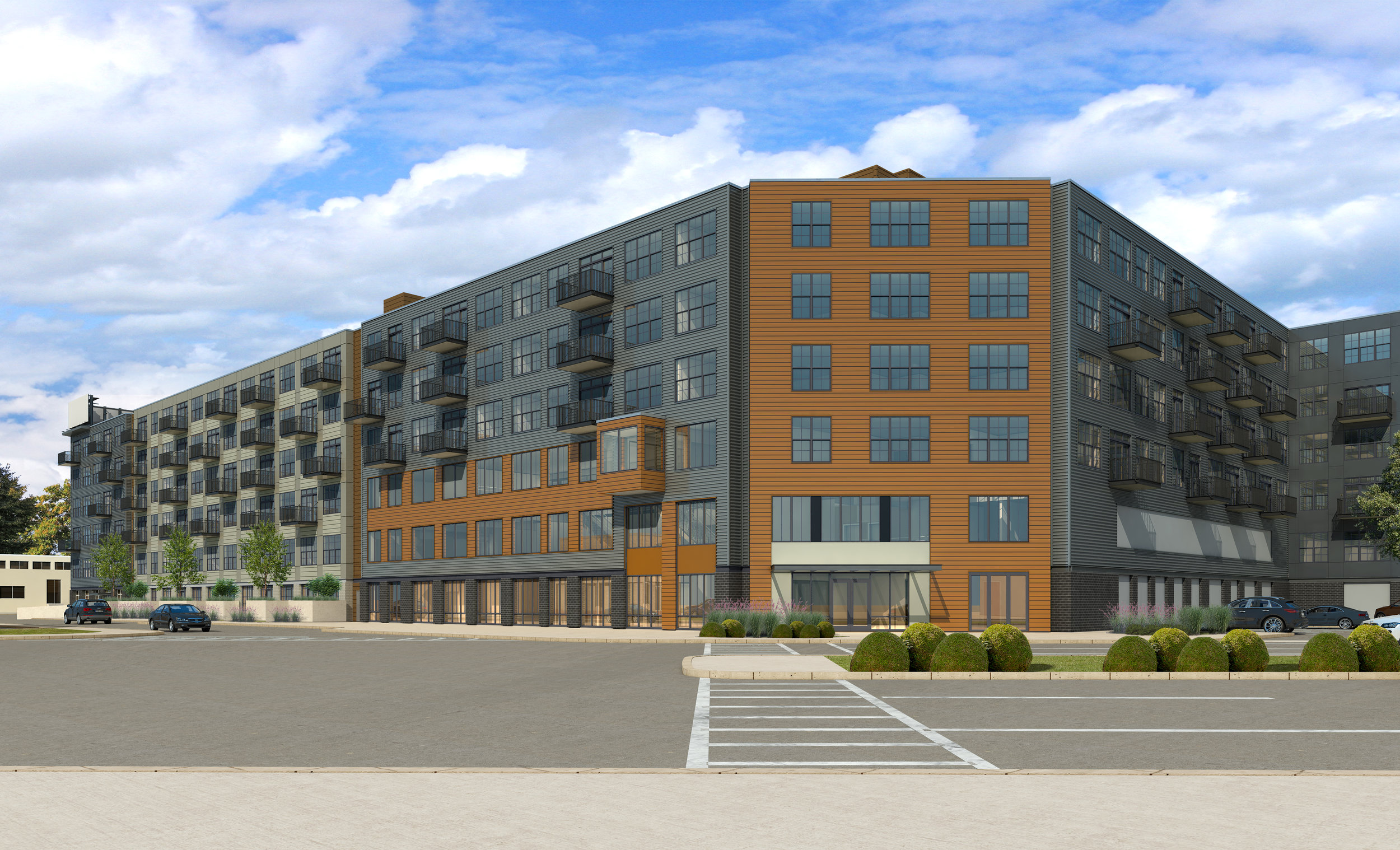 Apartments/Condominiums - Projects included locations in Avon, Braintree, Brockton, Everett, Franklin, Lowell, Medford, Milford, and Tewksbury, Massachusetts and in Manchester, New Hampshire. The projects ranged in size from fewer than 10 units to more than 300 units.