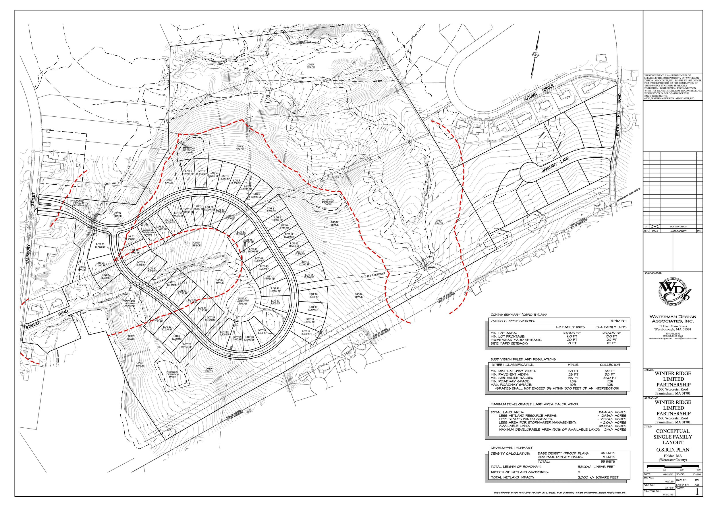 Subdivisions - Single-family home subdivision projects located in Carver, Dighton, Holden, Milton, Kingston, and Norwell, Massachusetts.