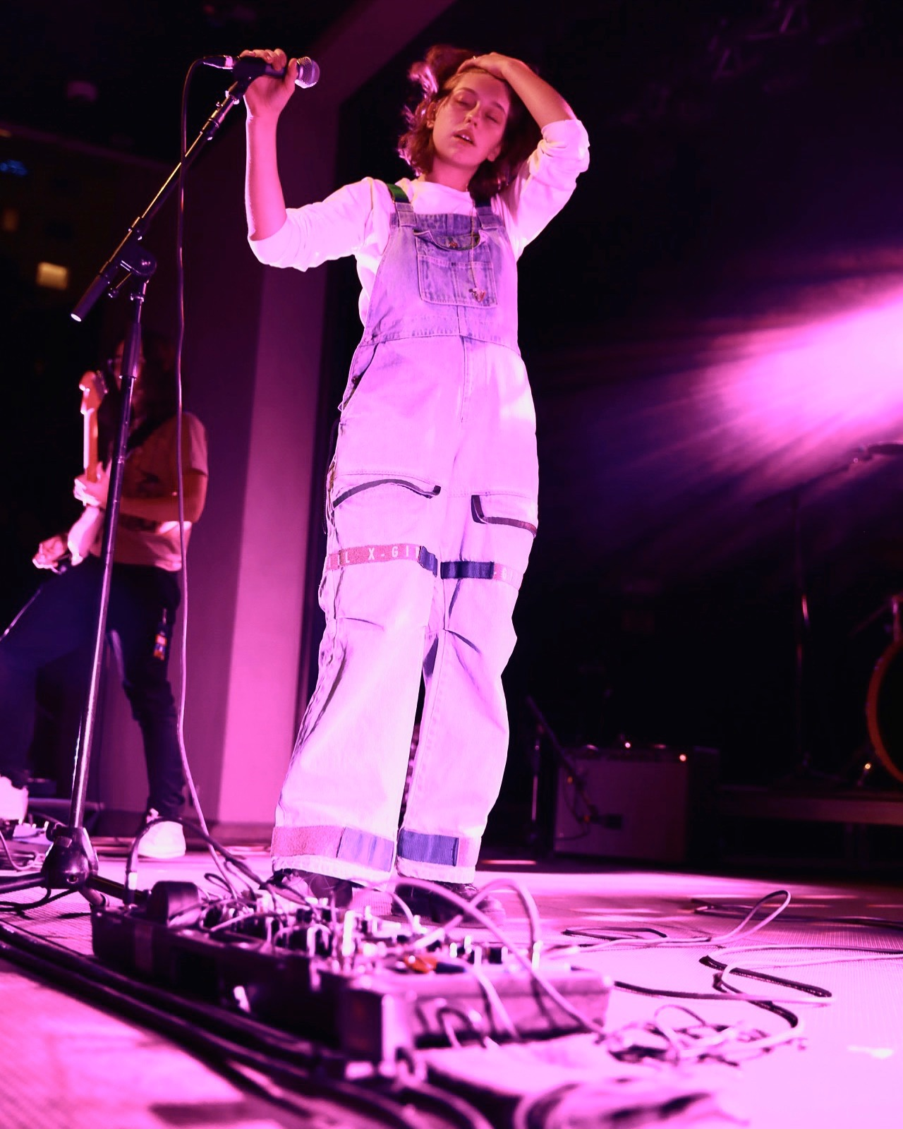 King Princess for HVNLY media in Salt Lake City, UT. Photo by Kennedy Cottrell