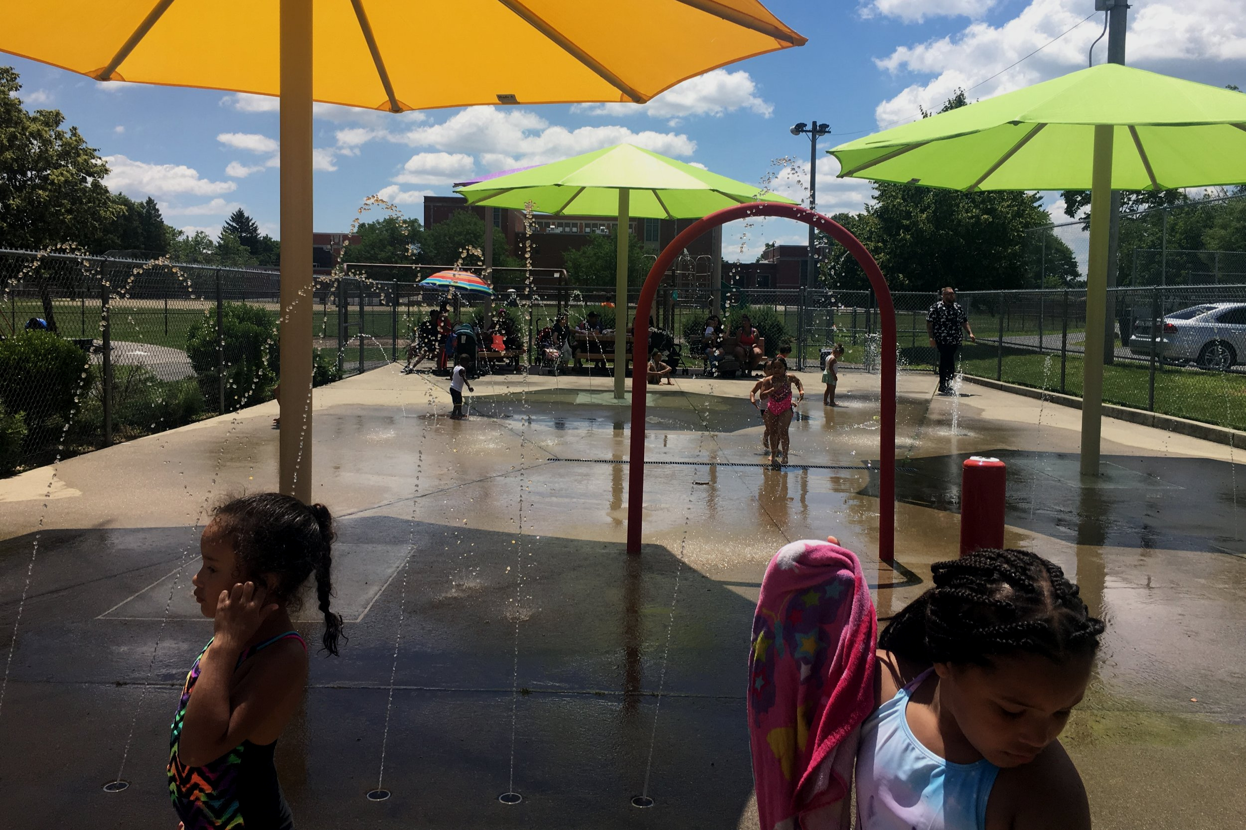 The George J. West Water Park is a great place to help kids stay cool this summer!