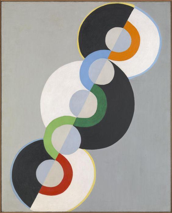 Robert Delaunay,Endless Rhythm,1934 -