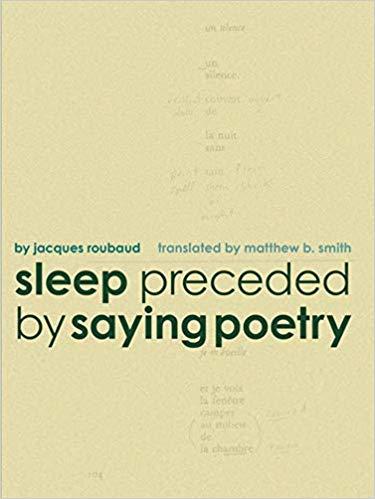 Sleep preceded by Saying Poetry.jpg