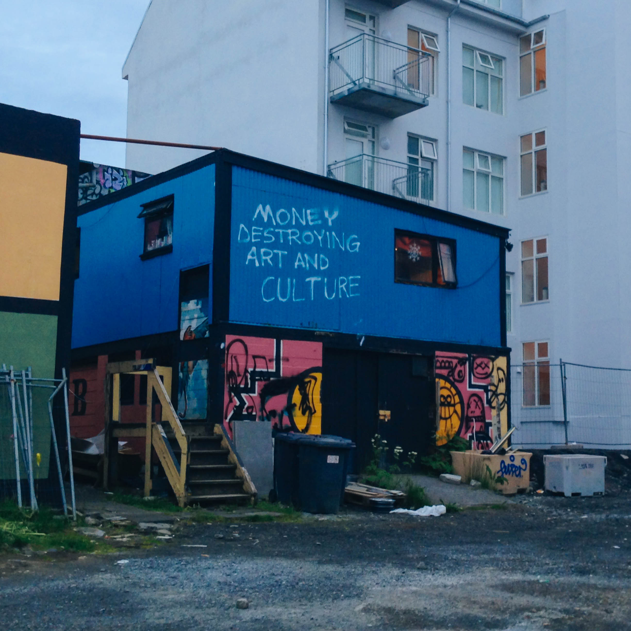 reykjavik has the best street art