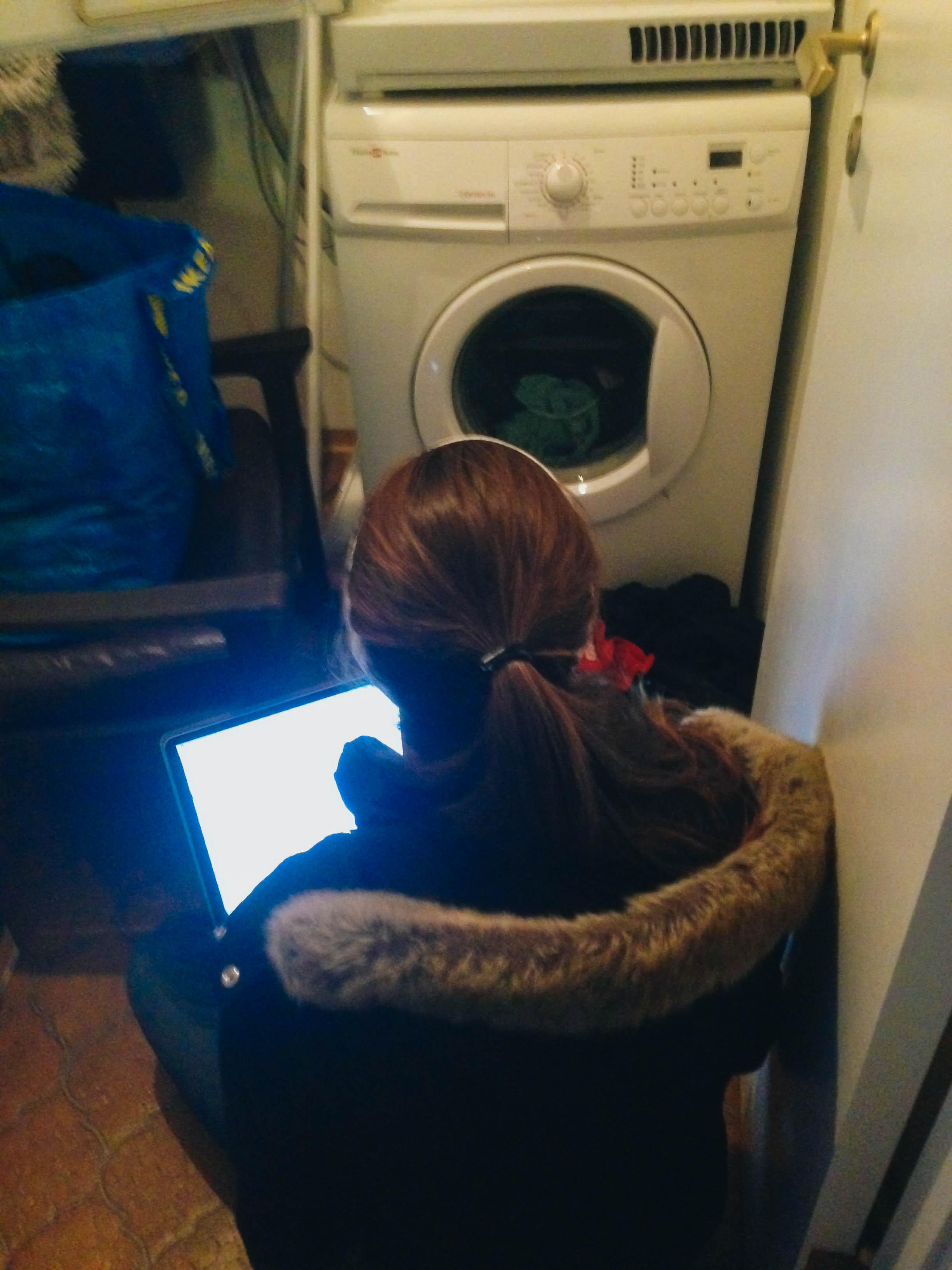 brie trying to translate the swedish controls on the washing machine