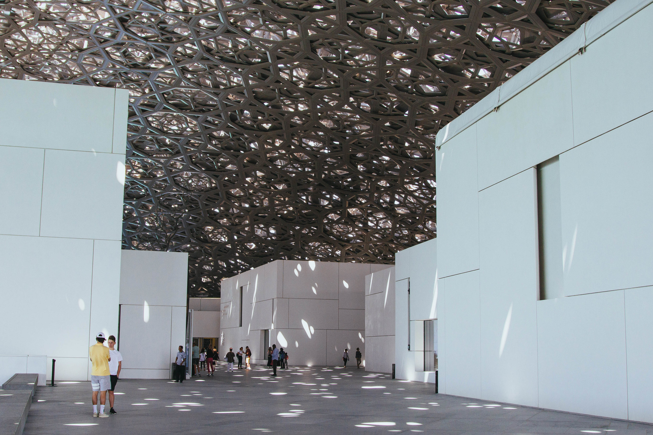 Louvre Abu Dhabi Domed Courtyard