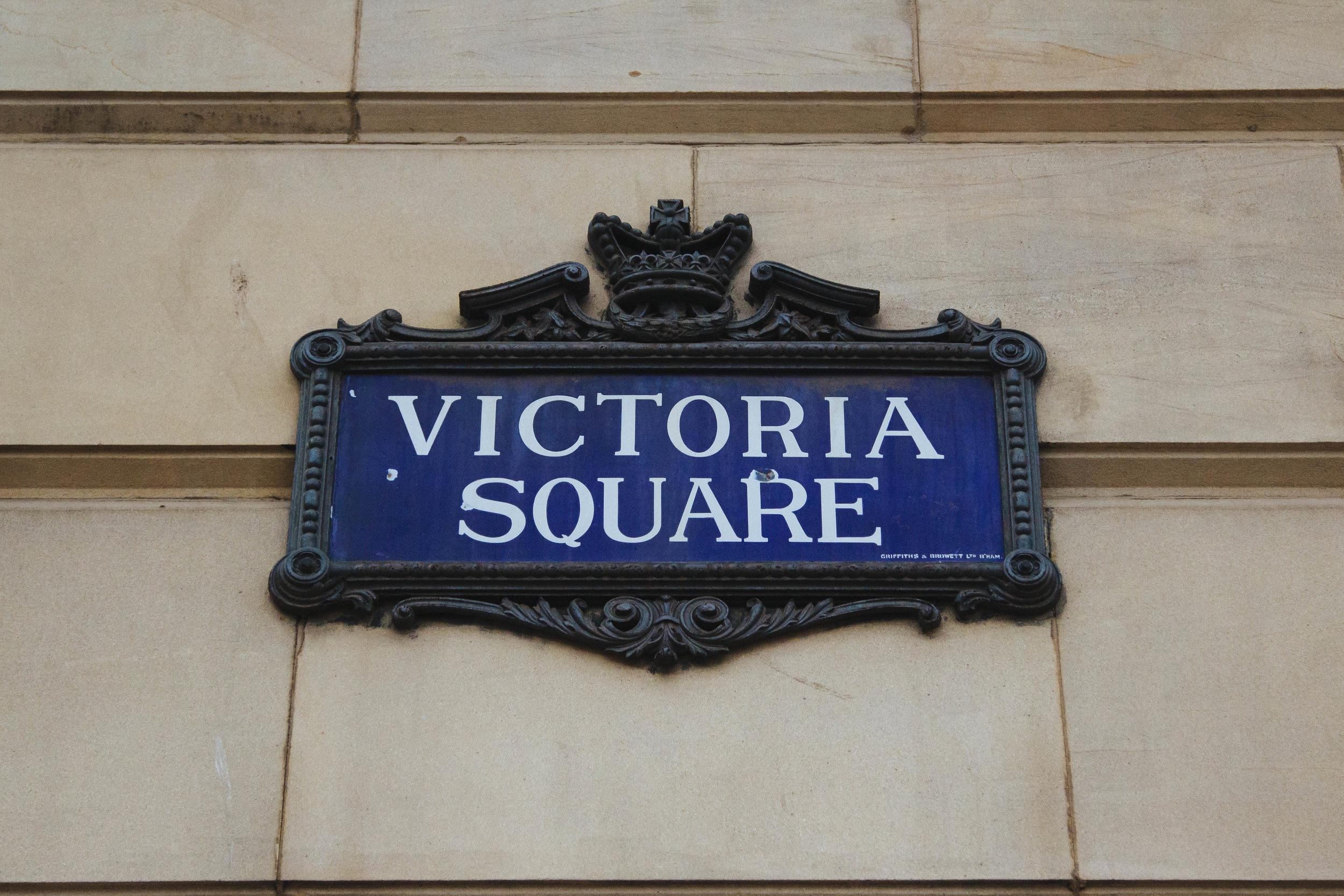 victoria square birmingham uk