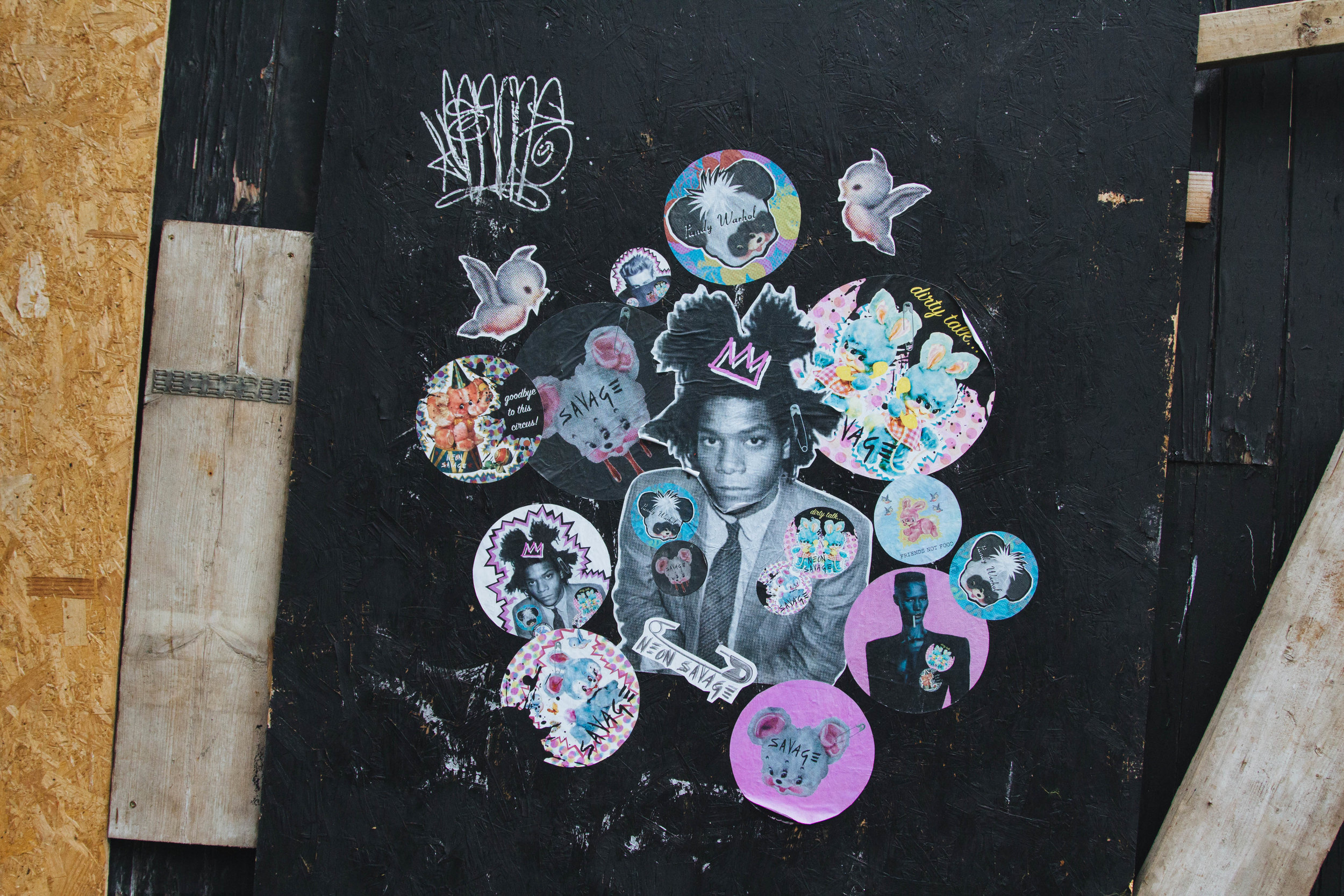 Homage to Jean-Michel Basquiat